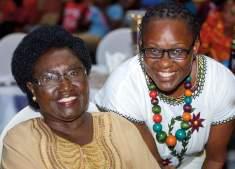 With Mama Cecilia